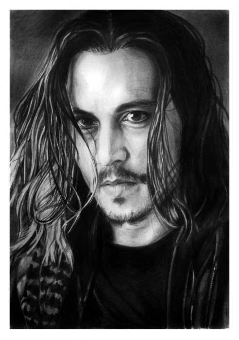 Johnny Depp por Arcitenens